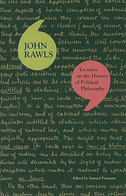 Lectures on the History of Political Philosophy By Rawls, John/ Freeman, Samuel (EDT)